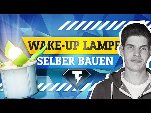 Wake-Up Lampe aus dem 3D-Drucker | Conrad TechnikHelden