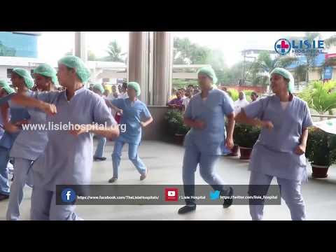 Hand Hygiene Flash Mob on Nurses Day 2018 | Lisie Hospital