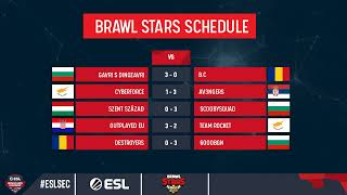 [ENG] Brawl Stars ESL SEC Season X Groups Day #2