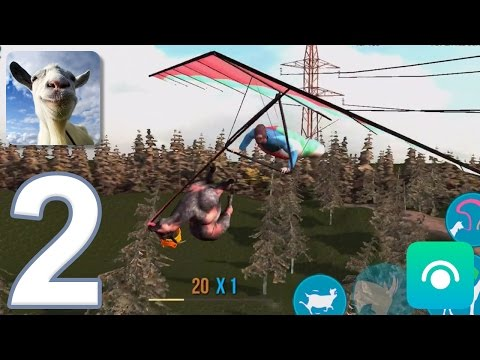 Goat Simulator - Gameplay Walkthrough Part 2 - Goatville (iOS, Android)