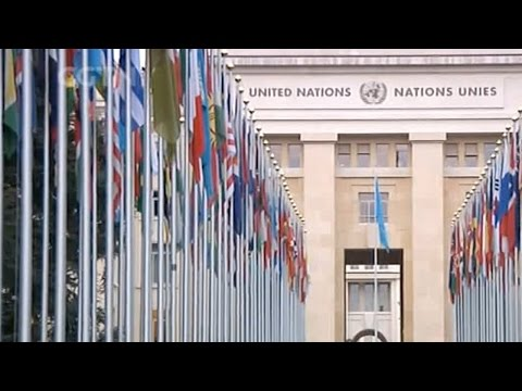 Exclusive tour of the UN Office in Geneva ahead of Chinese President Xi's arrival