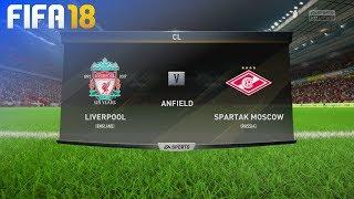 FIFA 18 - Liverpool vs. Spartak Moskow @ Anfield