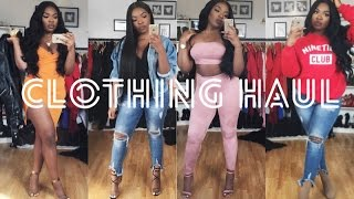 One of Annie Drea's most viewed videos: HAUL ft. WEARALL, JORD, BOOHOO, PLT, HOTMIAMISTYLES, PUBLIC DESIRE | AnnieDrea