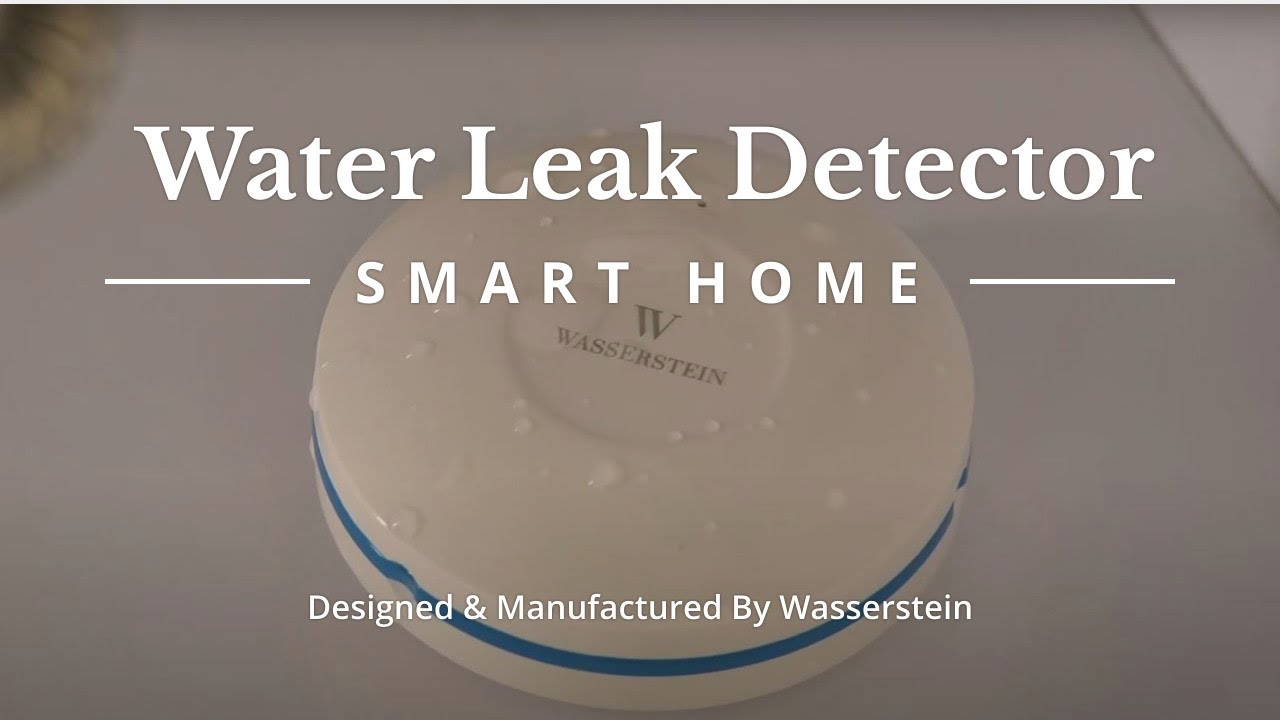 Improved Home Security with the Wasserstein Water Sensor