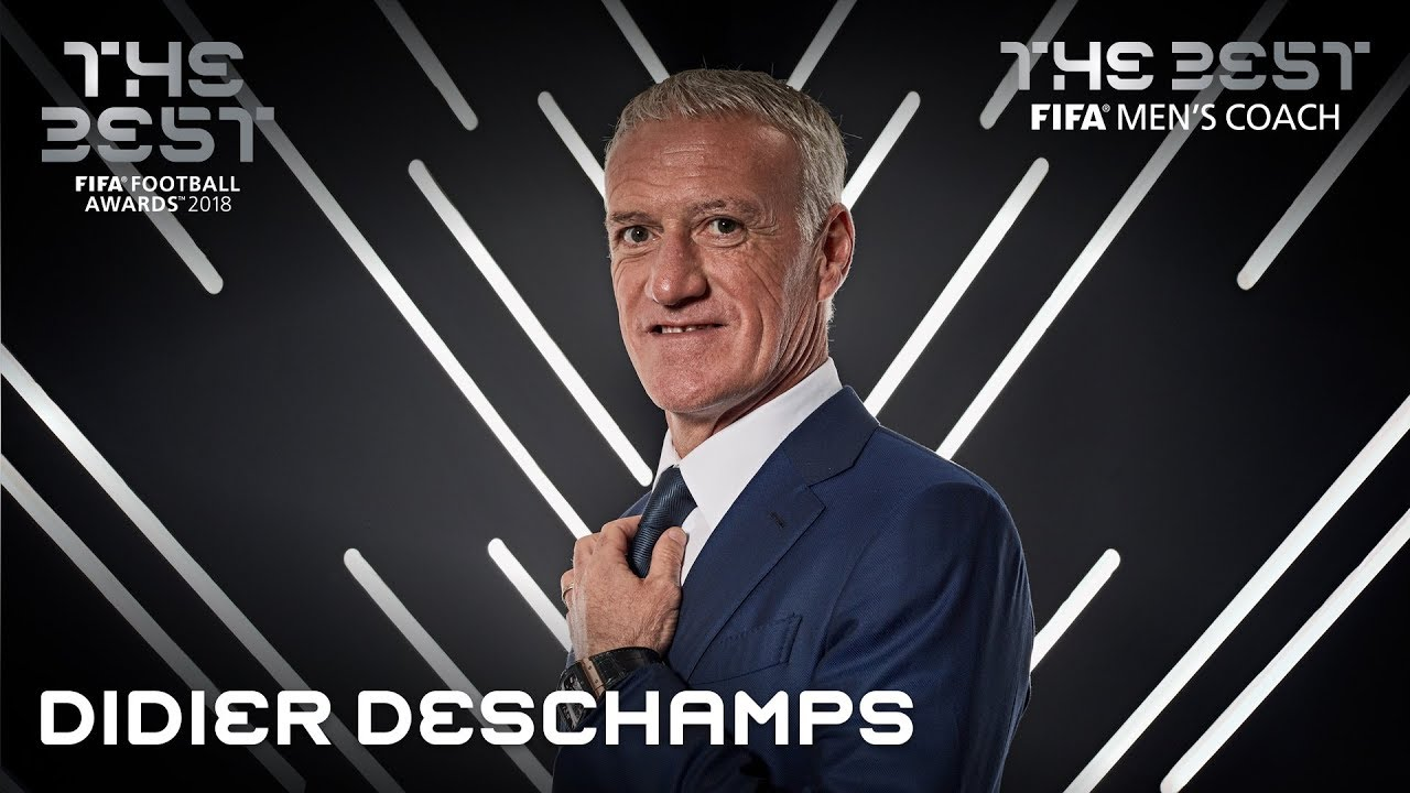 Image result for Didier Deschamps FIFA Best