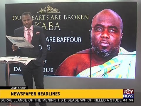 AM Show Newspaper Headlines on JoyNews (12-12-17)