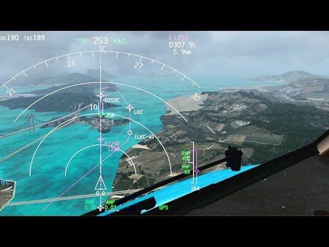 PMDG 777-300 - Hongkong Approach & Landing