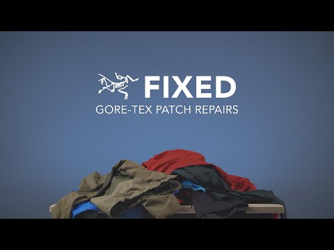 FIXED: Gore-Tex Patch Repairs