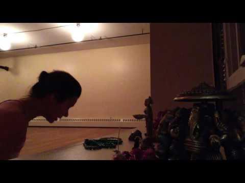 Chanting practice 1 - Siddha Kunjika Stotram
