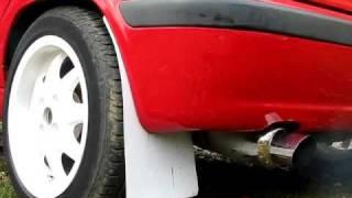 Skoda Felicia - Exhaust Sound - Like Boxer Engine