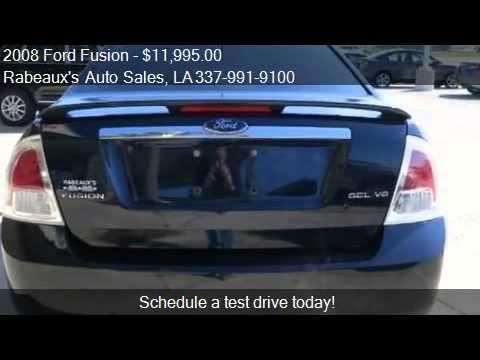 2008 Ford Fusion SEL - for sale in Lafayette, LA 70503