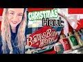 Bath and Body Works Christmas Haul 2018