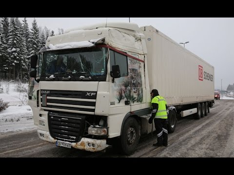 Illegal truck driving in Norway