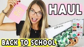 HAUL BACK TO SCHOOL 2018!! | Carolina Chiari