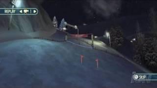 We Ski Nintendo Wii Gameplay - Slalom