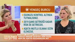 Nuray Sayarı 39 dan 2019 yıllık ve haftalık YENGEÇ burcu yorumları 31 Aralık 2018 6 Ocak 2019