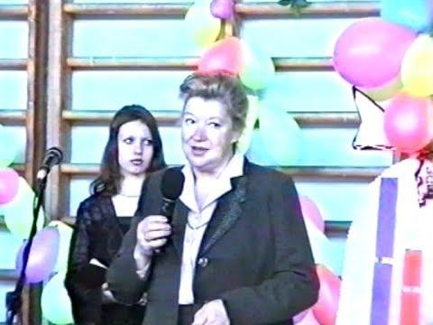 Выпускной в 3 школе гор. Луга. 2001 год.