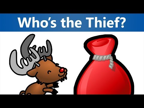 3 Christmas Riddles - Who's the Thief at the North Pole? | Mind Twist Riddles