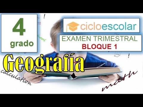 preguntas-de-examen-geografia-4-grado---primaria-bloque-1