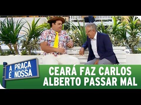 A Praça É Nossa (16/04/15) - Carlos Alberto passa mal de tanto rir com Ceará
