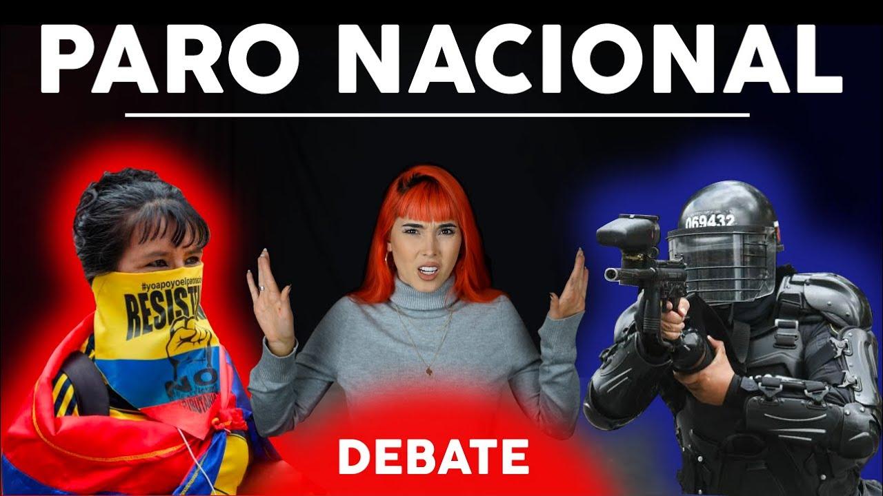SI al PARO vs. NO al PARO - DEBATE PARO NACIONAL EN COLOMBIA 2021