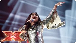 Let's Get Loud with Alisah Bonaobra's J Lo track | Live Shows | The X Factor 2017