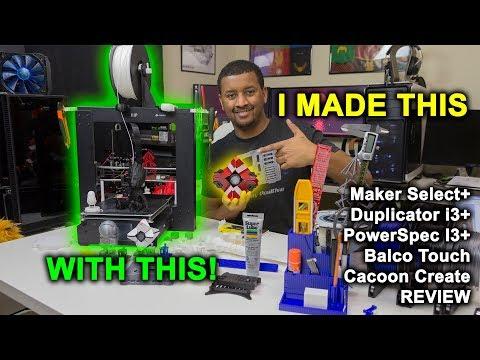 Monoprice Maker Select Plus | IN DEPTH 3D Printer Review
