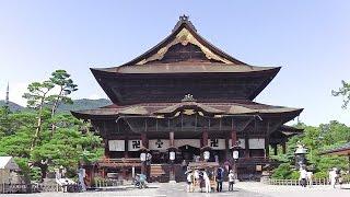 善光寺・東山魁夷館 Zenkoji Temple and Higashiyama Kaii Gallery - NAGANO TRIP, JAPAN