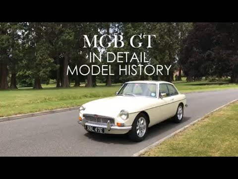 MGB GT - In Detail : Model History