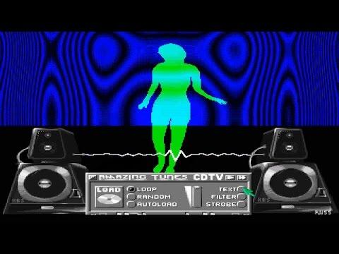 AMIGA CDTV ALMATHERA DEMO COLLECTION 1 MUSIC A LETTER A