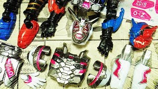 不気味で怖いアナザーシリーズは対象年齢3歳以上ですか・・・・・・恐るべし・・・。 変身アイテムはプレミアムバンダイから発売 光る鳴るDX...