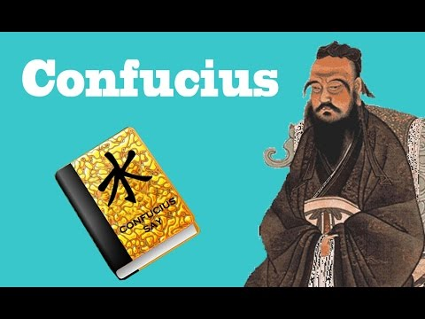 Confucius - a two-minute summary