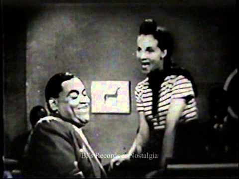 FATS WALLER.  Ain't Misbehavin'.  Original Soundie / Jukebox Video.   Circa 1940's