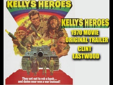 Kelly's Heroes 1970 War Movie Trailer Clint Eastwood