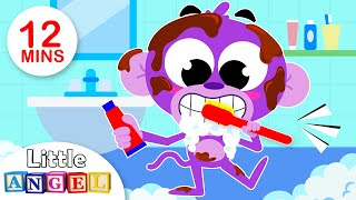 No No Song | Brush Your Teeth | Kids Songs by Little Angel