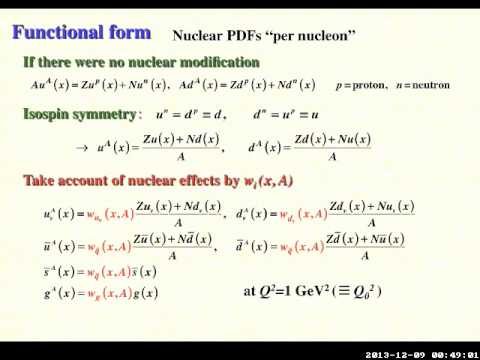 INT 13-54W: Shunzo Kumano, Theoretical Overview of Nuclear Parton Distribution Function