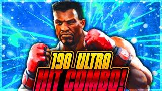 T.J Combo: 190 Hit Ultra Combo Killer Instinct