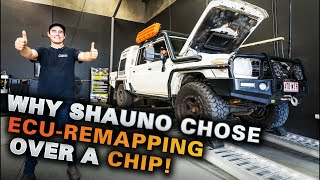 SHAUNO'S 79 got 94% more torque! Custom Diesel tuning  - everything you need to know