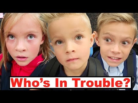 Which Kid is in TROUBLE at School? Parent Teacher Conference