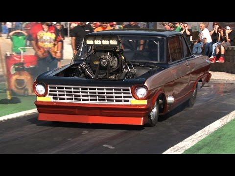 Big Tire Drag Racing - ORP Street Machine Shootout 2015