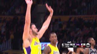 4th Quarter, One Box Video: Los Angeles Lakers vs. San Antonio Spurs