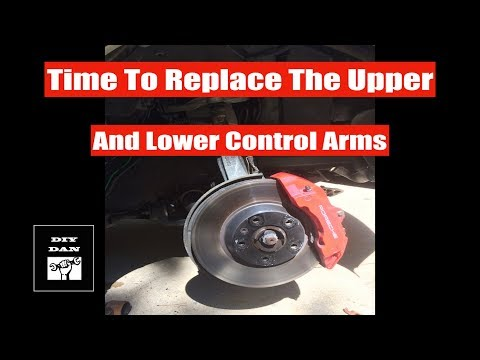 How to Replace the Control Arms On a Porsche Cayenne, VW Touareg, Audi Q7