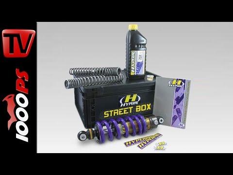 Hyperpro Streetbox! Einstellbares Fahrwerk am Beispiel MT-07 | Features, Preis
