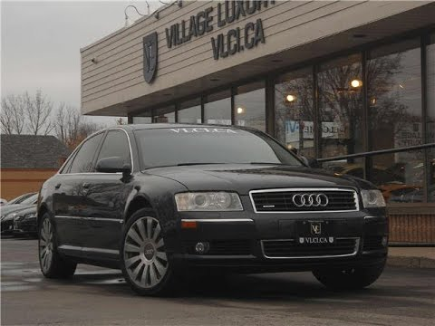 2005 audi a8 in review village luxury cars toronto youtube. Black Bedroom Furniture Sets. Home Design Ideas