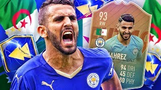 IS HE WORTH 600K?! 93 TOTS FLASHBACK MAHREZ PLAYER REVIEW! FIFA 19 Ultimate Team