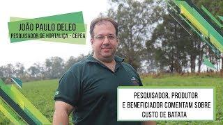 HF Brasil Entrevista - Pesquisador, Produtor e Beneficiador Comentam o Custo de Batata