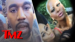 Kanye and Amber Rose Were At the Same Party | TMZ
