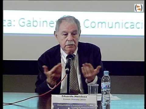 """I Congreso Comunicación y Educación: """"Leer y escribir """" Eduardo Mendoza"""
