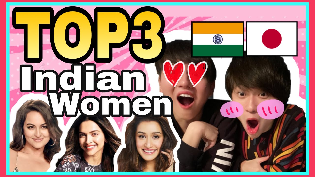Japanese Boys Pick TOP3 Attractive Indian Actress !!!!