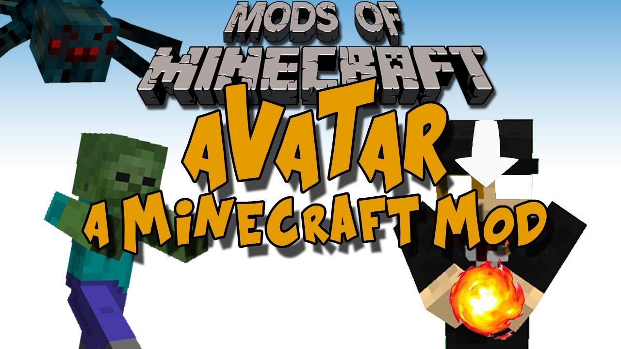 Mods of Minecraft - The Avatar Mod, The Last Airbender - YouTube